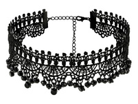 Choker - Lace Pearls