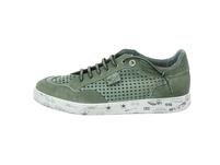 Cetti Herren C-1181-Nature Grüne Glattleder Sneaker