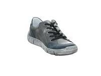 Krisbut Herren 5362-1 Grauer Glattleder Sneaker