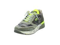 Cetti Herren Military Grüner Leder/textil Sneaker
