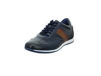 Bugatti Herren 311-45010-4141-4163 Blauer Glatt-/Veloursleder Sneaker