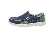 Hey Dude Herren Mikka Blauer Textil Sneaker