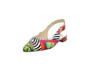 Högl Damen 9-100103-9900 Multicolorfarbener Glattleder Sling