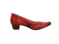 Maciejka Damen 04478-18/00-5 Rote Glattleder Pumps