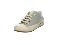 Candice Cooper Damen Rock Grauer Glatt-/Lackleder Sneaker