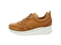 Carmela Damen 67143 Brauner Glattleder Sneaker