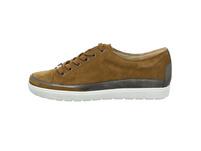 Caprice Damen 23654-370 Brauner Materialkombinierter Sneaker
