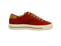 Paul Green Damen 4810-085 Rote Nubukleder Sneaker