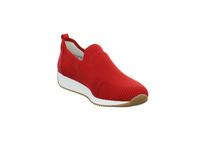 Ara Damen Lissabon Fushion 4 Rote Mesh Slip on Sneaker