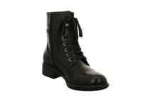 Regarde le Ciel Damen Roxana04 Schwarze Glattleder Boots