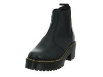 Dr.Martens Damen Rometty Schwarzer Leder/Textil Boot