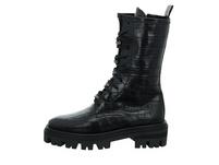 Alpe Damen 2099-69-05 schwarzer Leder Boot