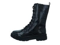La Strada Damen 1905773-1301 Schwarzer Lack Boot