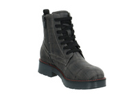 Tom Tailor Damen 9093509 GREY Grauer Textil Boot