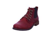 Josef Seibel Damen Sienna 09 Roter Leder/Textil Boot