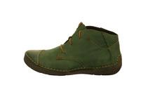 Josef Seibel Damen Fergey 18 Grüne Glattleder Boots
