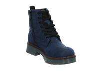 Tom Tailor Damen 9093509 BLUE Blauer Textil Boot
