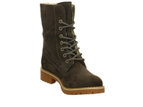 Tamaris Damen 26443-214 Grauer Velourleder Winterboot