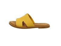 Tamaris Damen 27135-602 Gelbe Glattleder Pantolette
