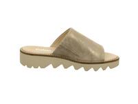 Gabor comfort Damen Rhodos 22-700-95 Beigefarbene Perlatoleder Pantolette