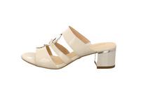 Caprice Damen 27201-123 Weiße Lack Pantolette