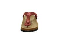 Birkenstock Damen Gizeh 1014406 Rote Synthetik Zehenstegpantolette