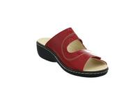 Longo Damen 1019301 Rote Lack Pantolette