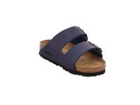 Birkenstock Damen Arizona 051063 Blaue Birkoflor Pantoletten