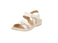 Caprice Damen 28651-102 Weißer Glattelder Sandalette