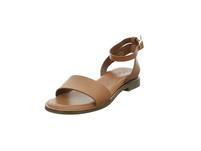 Tamaris Damen 28260-455 Braune Glattleder Sandale