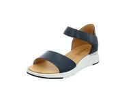Caprice Damen 28706-855 Blaue Glattleder Sandale