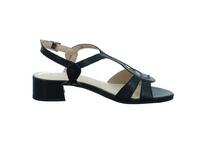 Caprice Damen 28201-022 Schwarze Glattleder Sandalette