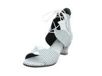Simen Damen 0161A-9DU Weiße Glattleder Sandalette