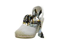 Vidorreta Damen 14229SRCLGRIS Graue Leder/Textil Sandalette