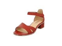Caprice Damen 28205-501 Rote Glattleder Sandalette