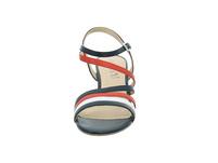 Caprice Damen 28304-934 Multicolorfarbene Glattleder Sandalette