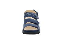 Think! Damen Cambio Blaue Glattleder Sandalette
