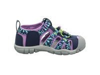 Keen Kinder Seacamp II CNX Blaue Synthetik/Textil Sandale