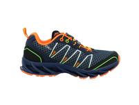 CMP Kinder Kids Altak Trail Shoe 2.0 Blauer Synthetik/Textil Sneaker