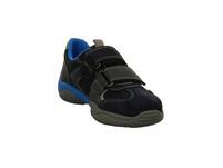 Superfit Kinder Storm 09380-80 Blauer Veloursleder/Mesh Sneaker