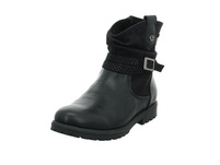 S.Oliver Kinder 46406-098 Schwarzer Synthetik/Textil Boot