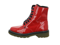 Bullboxer Kinder AOL501E6LG-CHILL Roter Lackleder Boot