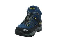 CMP Kinder Kids Rigel Mid Trekking Shoes WP Blauer Veloursleder Boot