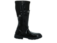 Primigi Kinder 2382611 Schwarzer Synthetik/Textil Stiefel