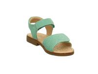 Lurchi Mädchen Zuzu Grüne Veloursleder Sandale