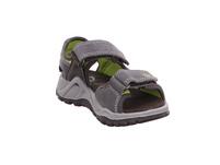 Primigi Kinder 1397722 Graue Leder/Textil Sandale