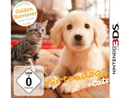 Nintendo Nintendogs & Cats Golden Retriever
