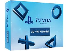Sony PS Vita WiFi + 3G Pre Order Pack