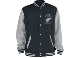 Game of Thrones - Collegejacke Haus Stark (Größe M)