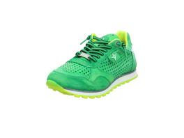 Cetti Herren C-848/Hawai-Yellow Grüne Glattleder Sneaker